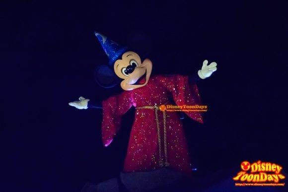 WDW ディズニーハリウッドスタジオ ハリウッドブルーバード ファンタズミック! ミッキーマウス (12)