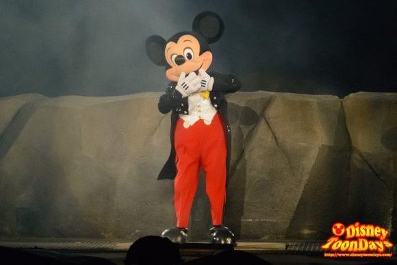 WDW ディズニーハリウッドスタジオ ハリウッドブルーバード ファンタズミック! ミッキーマウス (14)