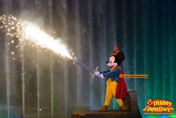 WDW ディズニーハリウッドスタジオ ハリウッドブルーバード ファンタズミック! ミッキーマウス (7)