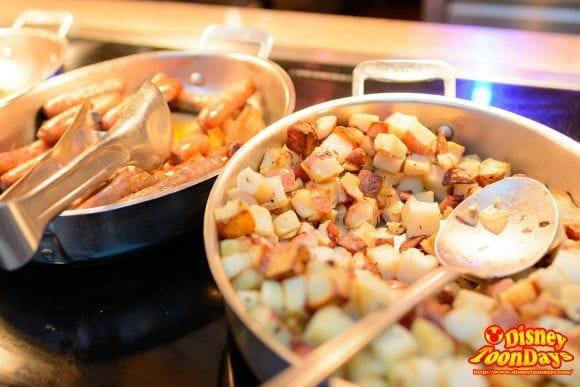 WDW ビーチ・クラブ・リゾート ケープメイ・カフェ 料理