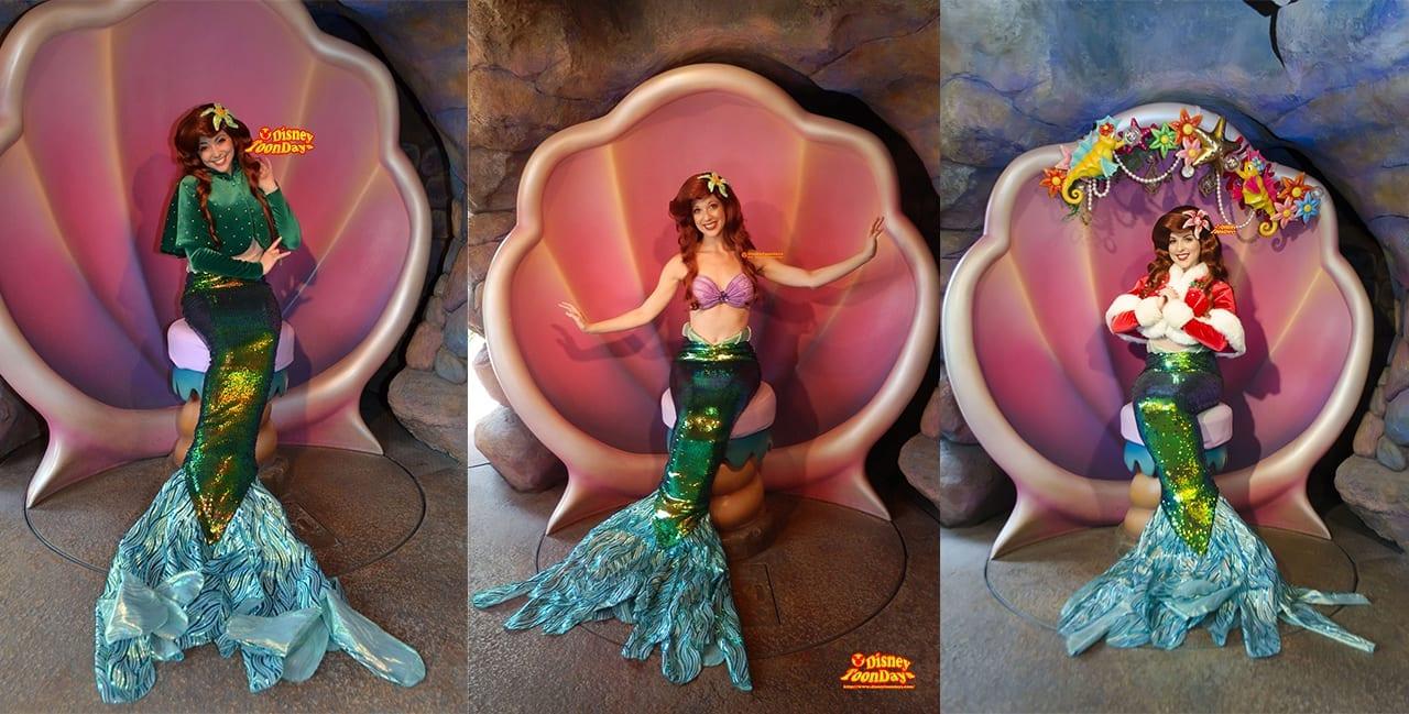 『マーメイドラグーン』にある『アリエルのグリーティンググロット』では人魚姫のアリエルに会える