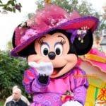 華やかな春のパレード「ミニーのリトル・スプリング・トレイン」@ディズニーランドパリ