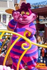 ディズニーランドパリ『ミニーズ・リトルスプリングトレイン』に登場したチェシャ猫