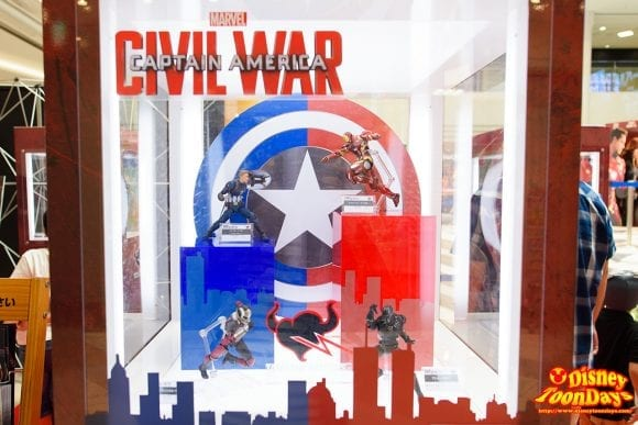マーベルヒーローズフェスタ 2016 シビル・ウォー/キャプテン・アメリカ全体