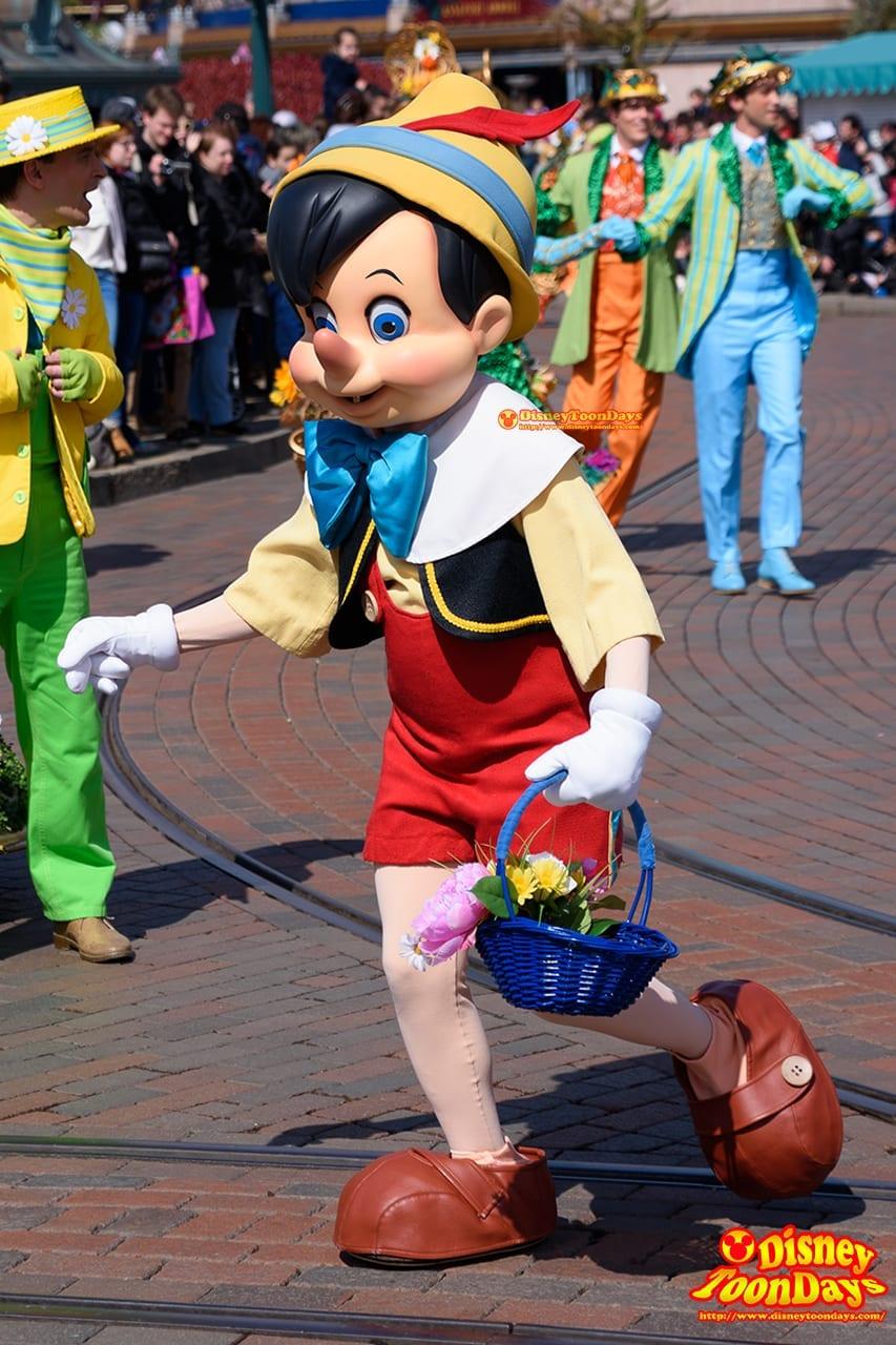 DLP スウィング・イントゥ・スプリング 2016 グーフィーズ・ガーデン・パーティー ピノキオ