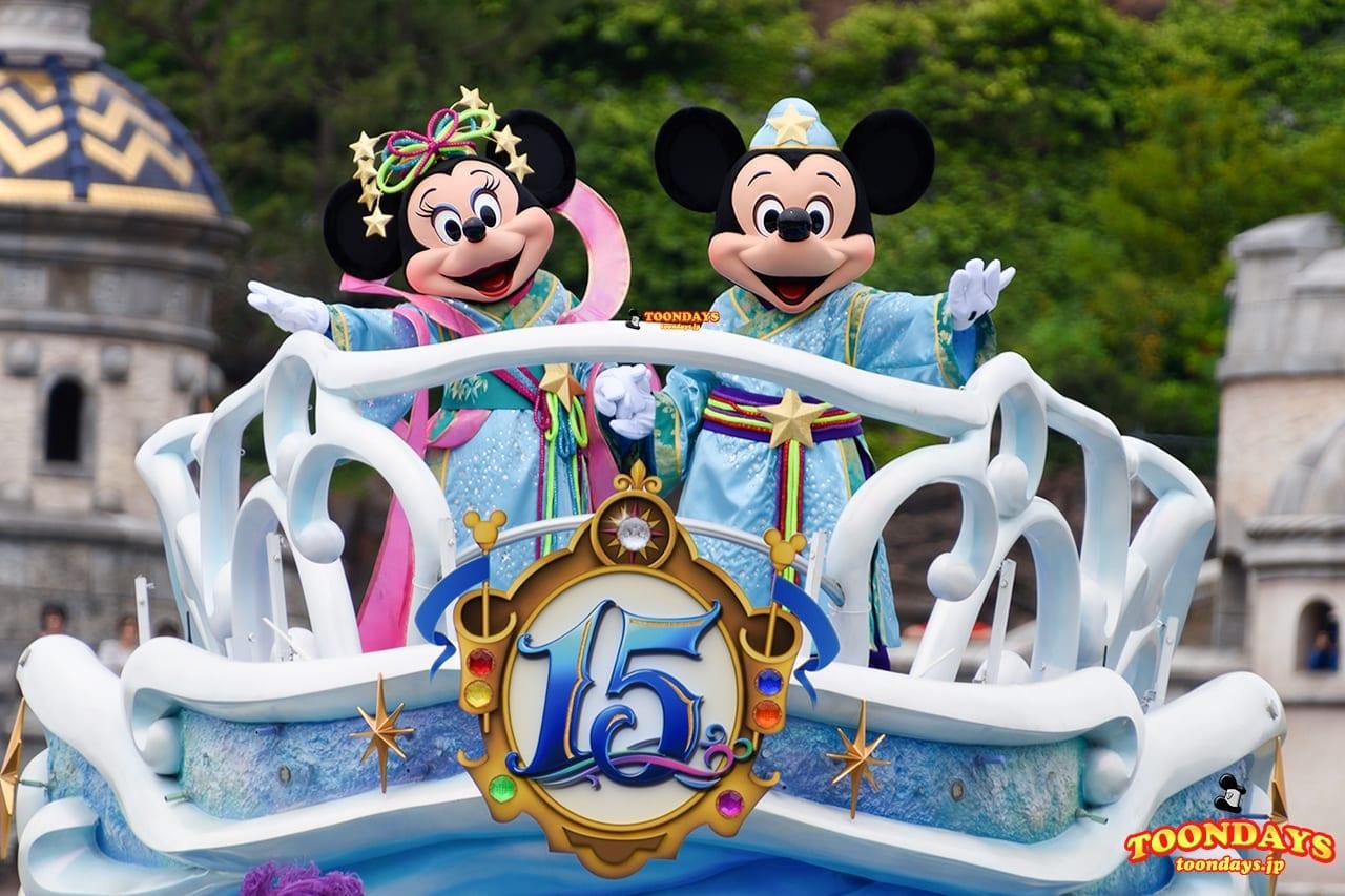 TDS-ディズニー七夕デイズ-2016-七夕グリーティング ミッキーマウス ミニーマウス