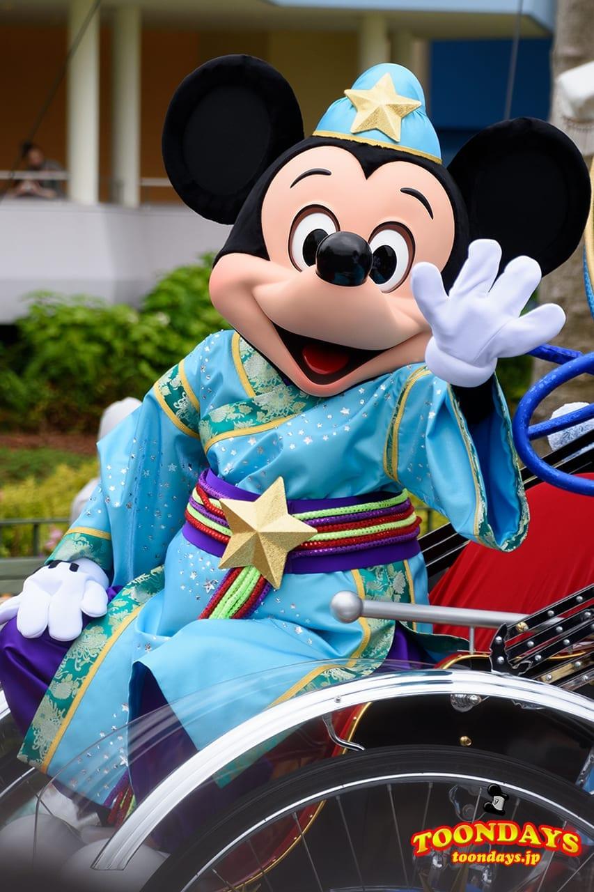 TDL ディズニー七夕デイズ 2016 七夕グリーティング ミッキーマウス