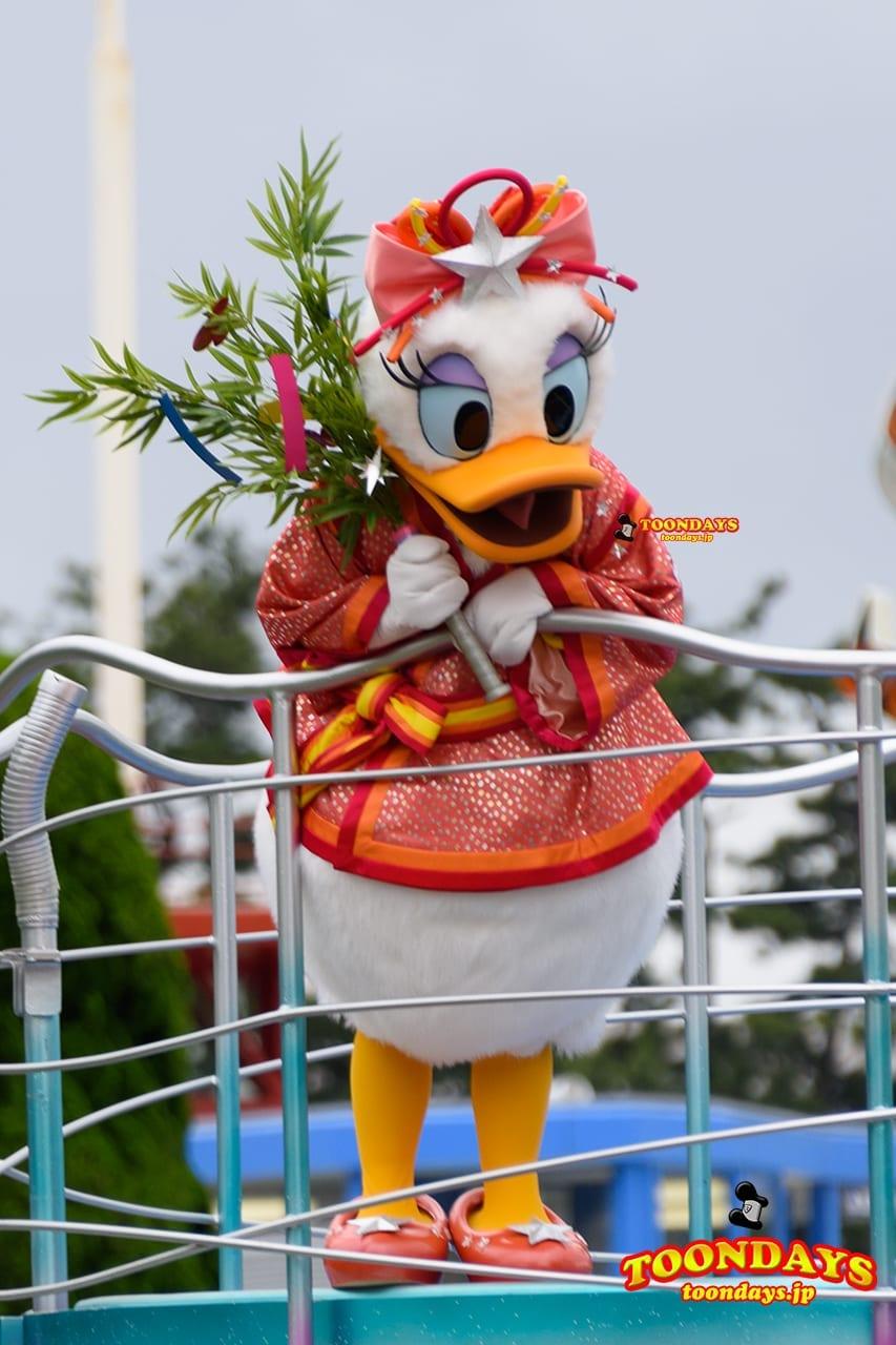 TDL ディズニー七夕デイズ 2016 七夕グリーティング デイジーダック
