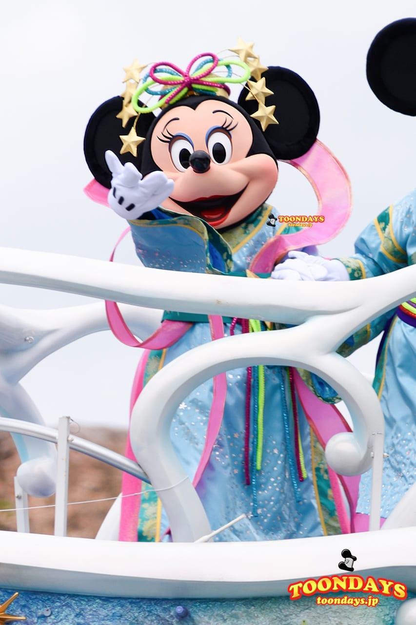TDS-ディズニー七夕デイズ-2016-七夕グリーティング ミニーマウス
