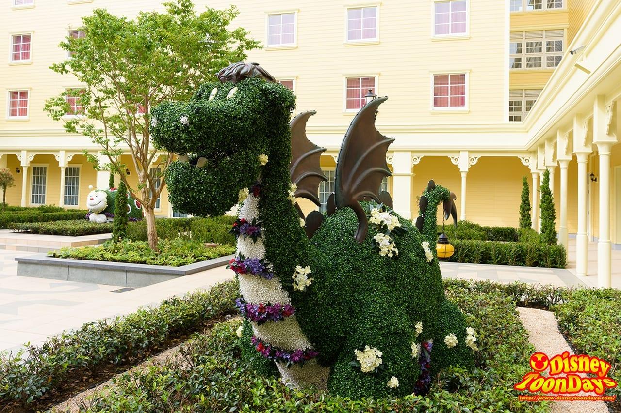 TDR ディズニーセレブレーションホテル 中庭 (9)