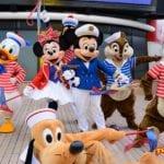 次はディズニークルーズライン!上海の新スタイルのミッキー&ミニーが登場