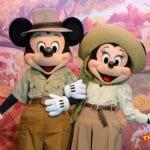 ミッキー&ミニーのペアグリーティング!WDWのアニマルキングダム「Adventurers Outpost(アドベンチャーズ・アウトポスト)」/世界一周レポート106