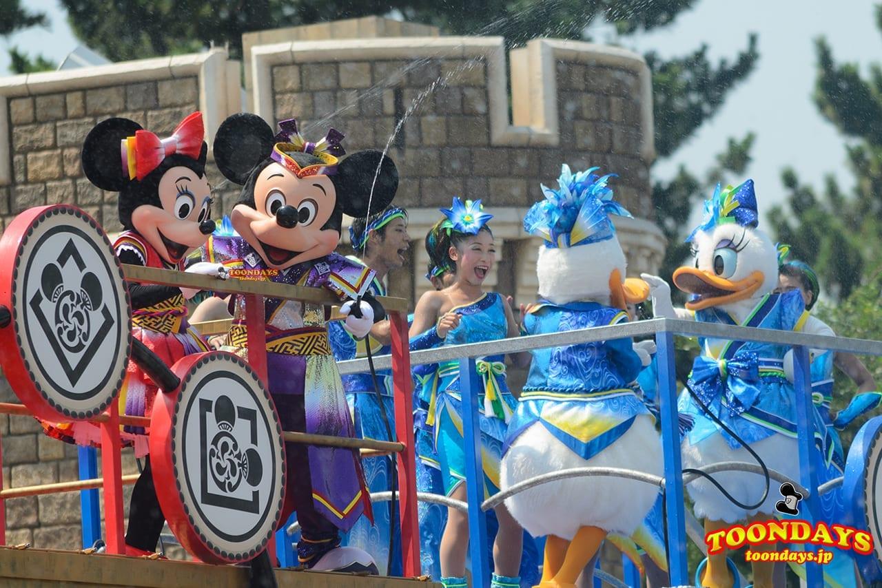 TDL ディズニー夏祭り 2014 雅涼群舞 (2)