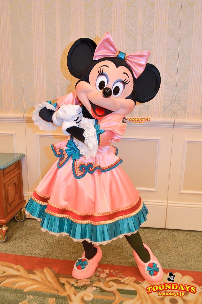 TDR ディズニーランドホテル グリーティング ミニーマウス