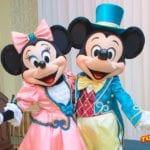 ランホコスのミッキー&ミニーペアグリも!ディズニーランドホテルでグリーティング