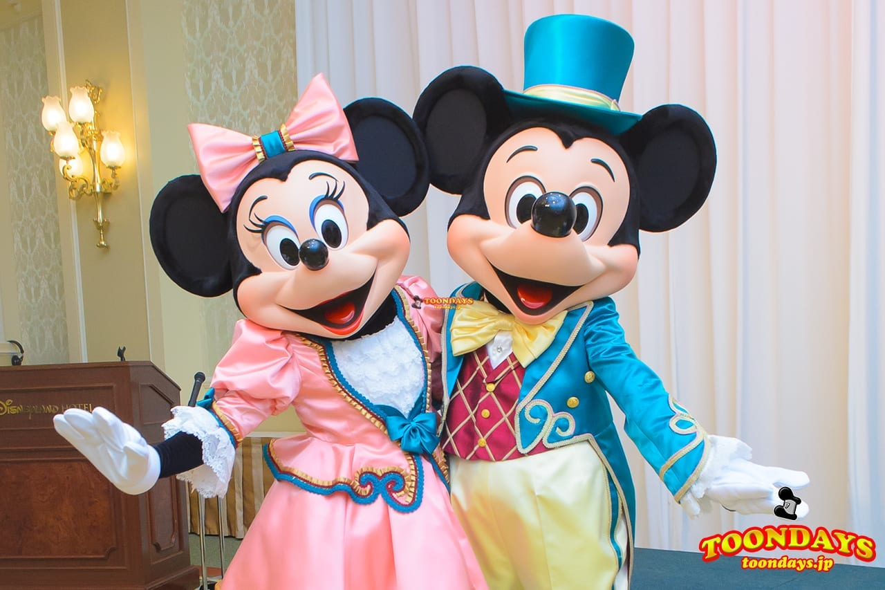 ランホコスのミッキー&ミニーのペアグリも!東京ディズニーランドホテル