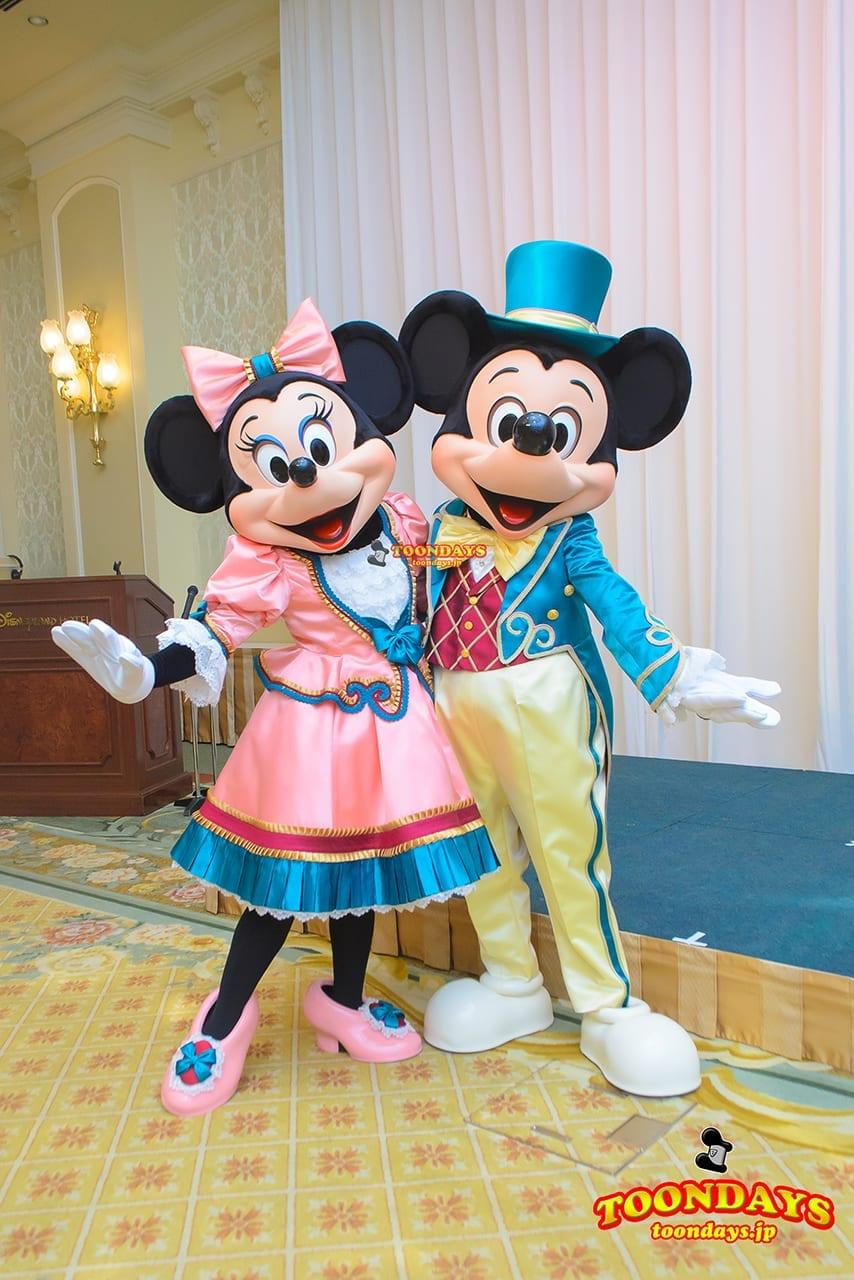 TDR ディズニーランドホテル グリーティング ミッキーマウス ミニーマウス