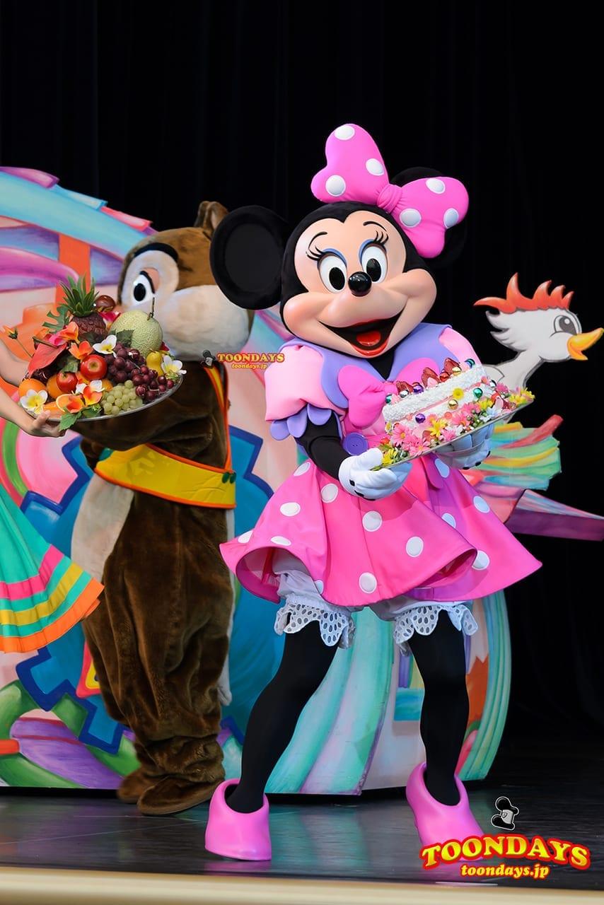 TDL トゥモローランド ショーベース パークファンパーティー ミッキー&ヒズ・パルズ~タイム・オフ ミニーマウス