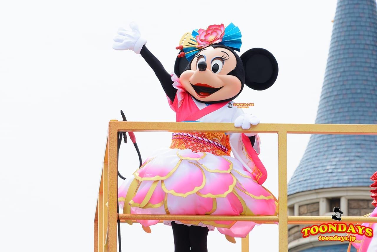 TDL ディズニー夏祭り 2016 彩涼華舞 ミニーマウス