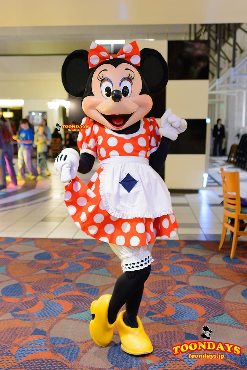 WDW ディズニー・コンテンポラリー・リゾート・ホテル シェフミッキー グリーティング ミニーマウス
