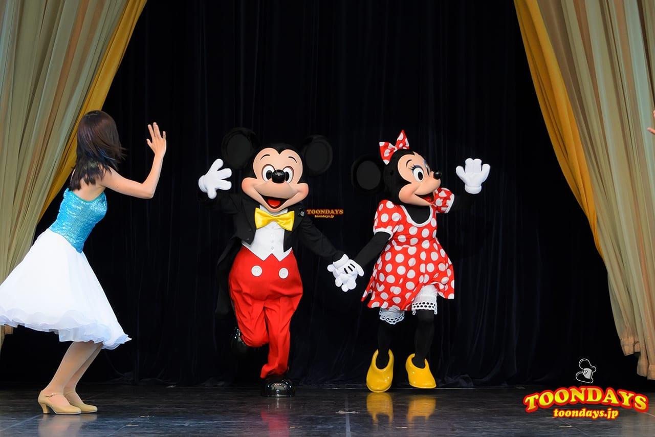 TDL トゥモローランド ショーベース パークファンパーティー ミッキーマウス ミニーマウス