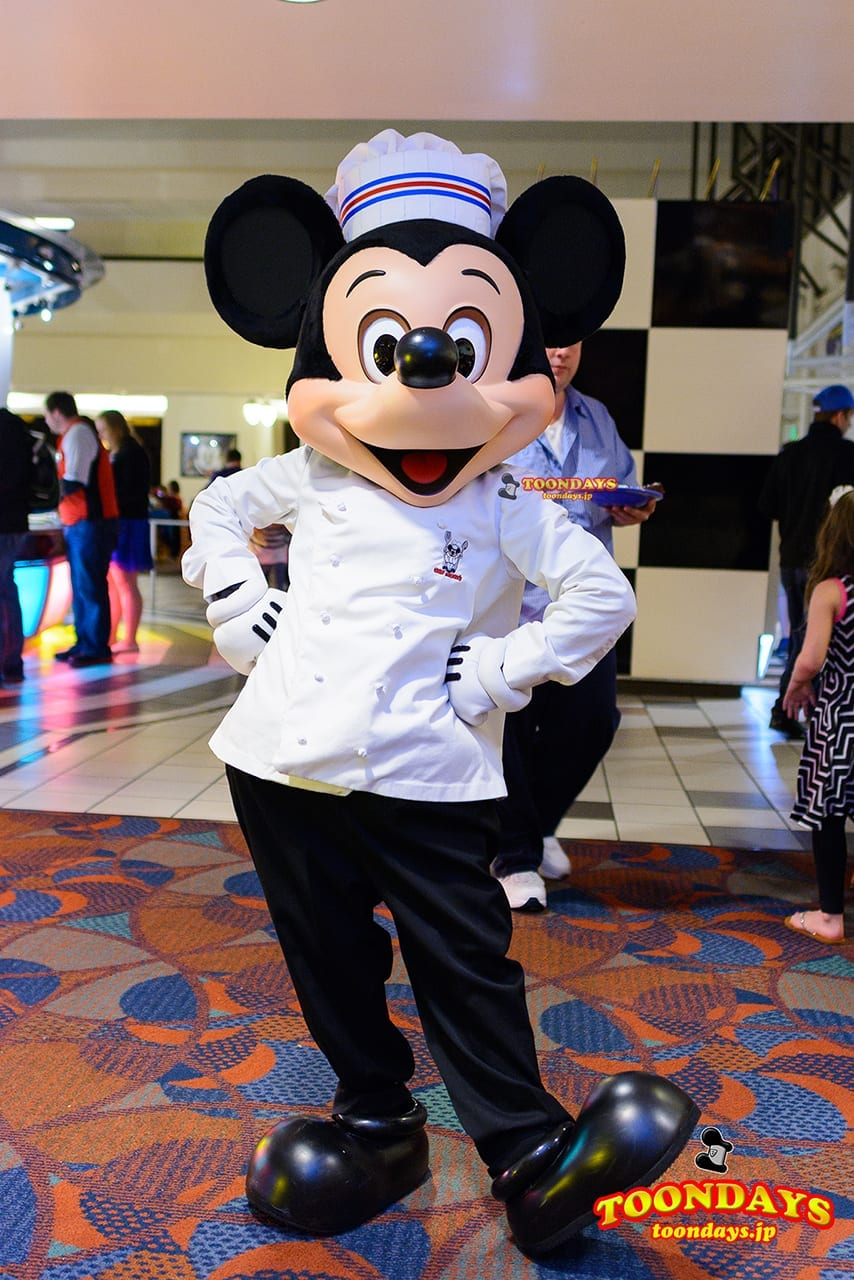 WDW ディズニー・コンテンポラリー・リゾート・ホテル シェフミッキー グリーティング ミッキーマウス