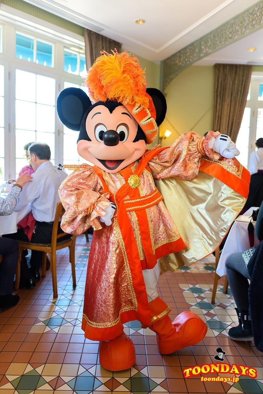 DLP ディズニーランドホテル インベンションズ サンデーブランチ ミッキーマウス