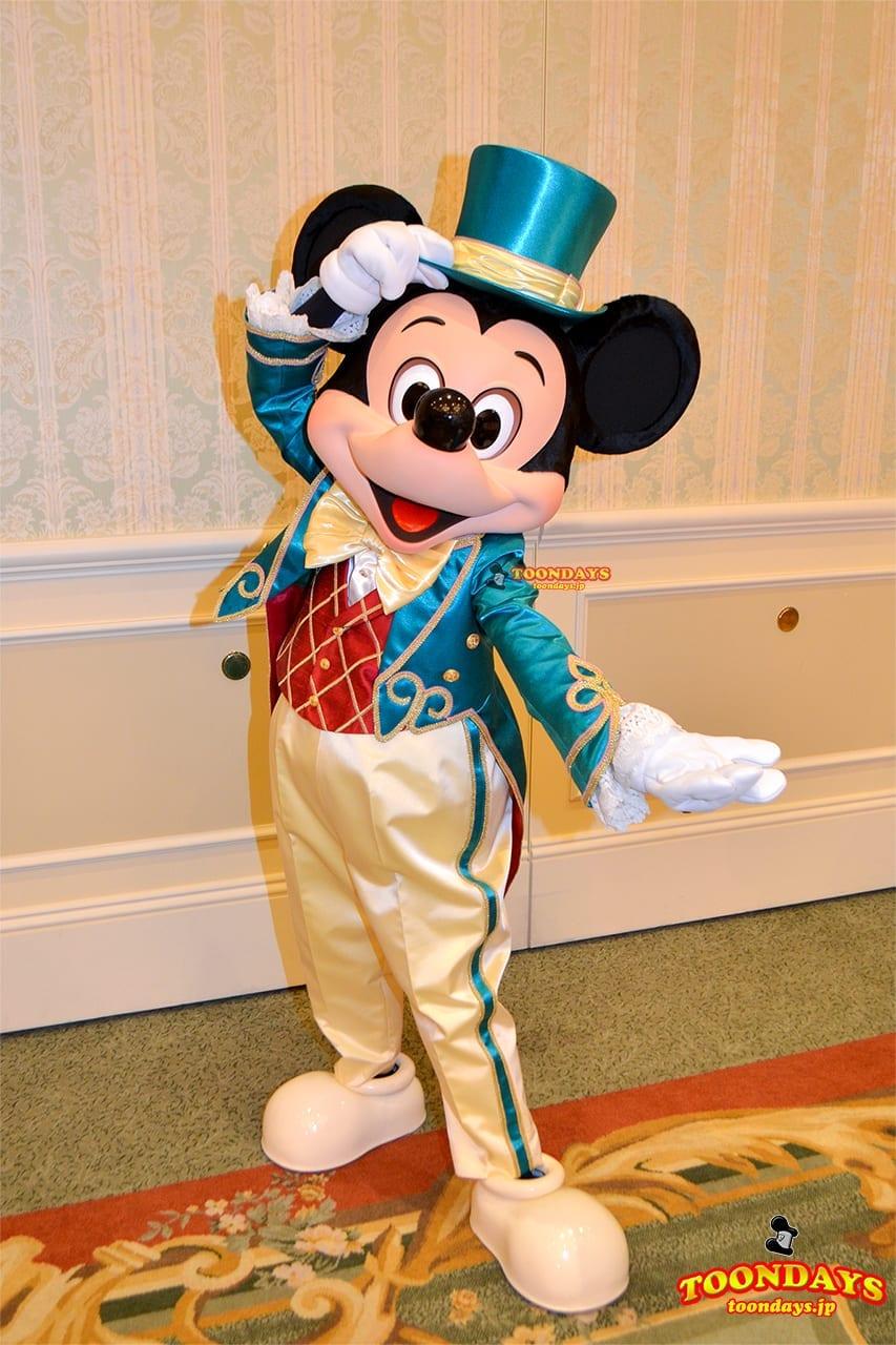 TDR ディズニーランドホテル グリーティング ミッキーマウス