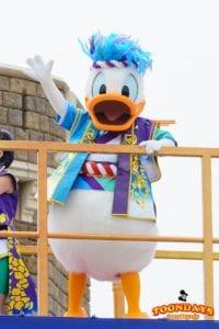 TDL ディズニー夏祭り 2016 彩涼華舞 ドナルドダック