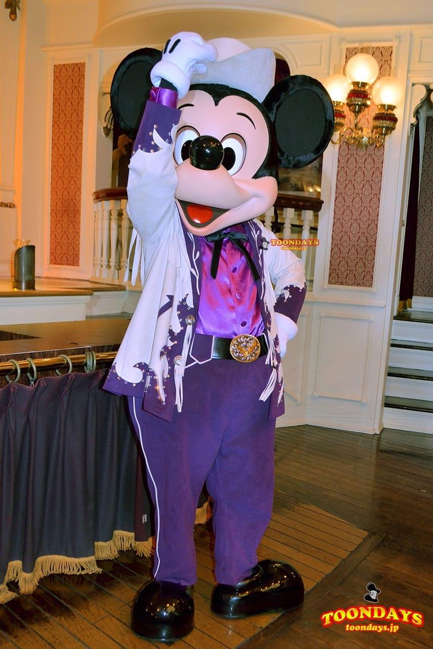 TDL ザ・ダイヤモンド・ホースシュー パーク・ファン・パーティー ミッキーマウス