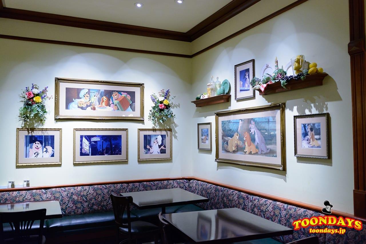 WDW マジックキングダム メインストリートUSA トニーズ・タウン・スクエア・レストラン (4)