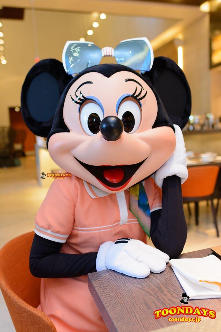 WDW フォーシーズンズ・ホテル ラヴェロ グリーティング ミニーマウス (3)
