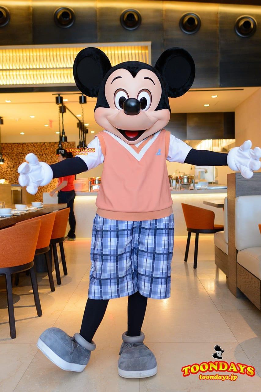 WDW フォーシーズンズ・ホテル ラヴェロ グリーティング ミッキーマウス (5)