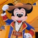 海賊ミッキー達が1日限定で登場!ディズニークルーズラインのパイレーツナイト/世界一周レポート122
