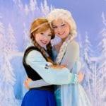 ディズニークルーズラインでアナ雪グリ!美しい姉妹アナ&エルサとグリーティング/世界一周レポート121