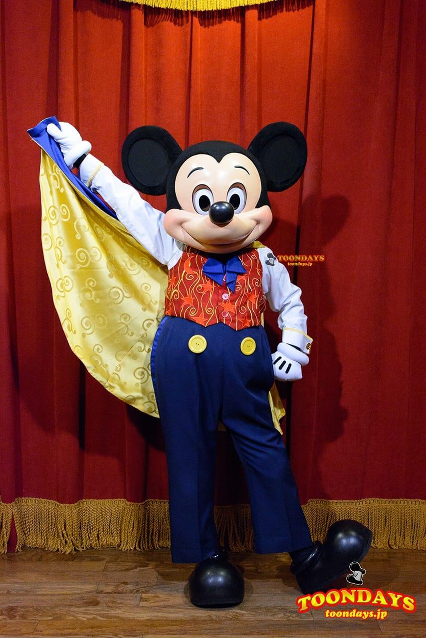 WDW マジックキングダム タウンスクエアシアター グリーティング ミッキーマウス