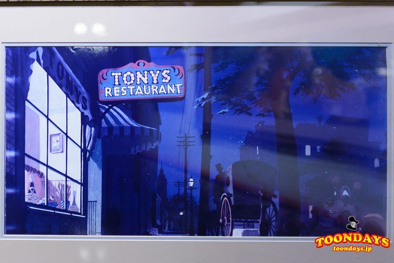 WDW マジックキングダム メインストリートUSA トニーズ・タウン・スクエア・レストラン (6)