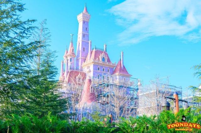 ニューファンタジーランドの美女と野獣のお城
