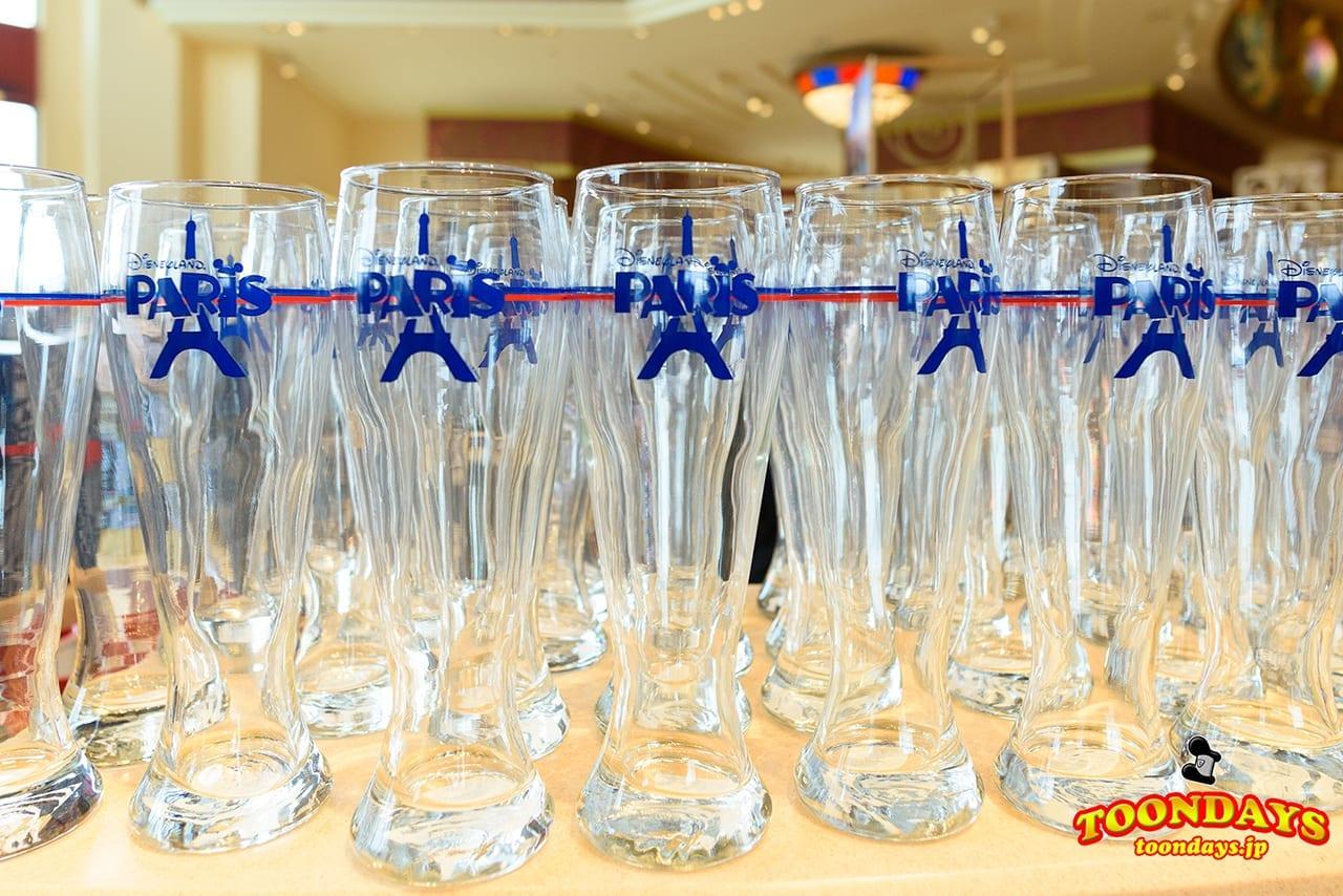 ディズニーランドパリのグッズであるグラス