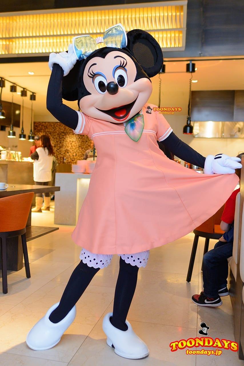 WDW フォーシーズンズ・ホテル ラヴェロ グリーティング ミニーマウス (2)
