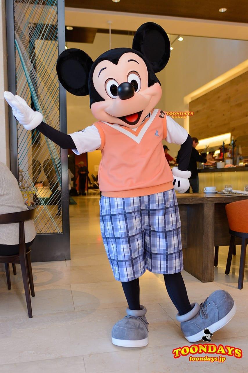 WDW フォーシーズンズ・ホテル ラヴェロ グリーティング ミッキーマウス (1)