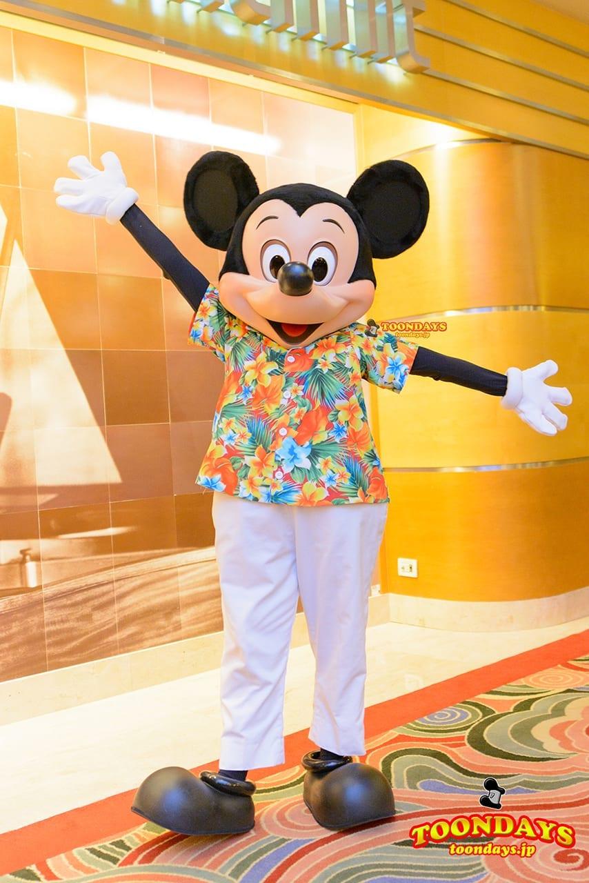 DCL ディズニー・ワンダー号 プレリュード グリーティング  ミッキーマウス