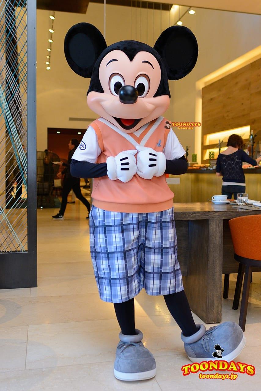 WDW フォーシーズンズ・ホテル ラヴェロ グリーティング ミッキーマウス (6)