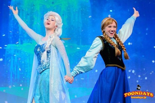 ディズニークルーズライン アナと雪の女王 ミュージカルショー