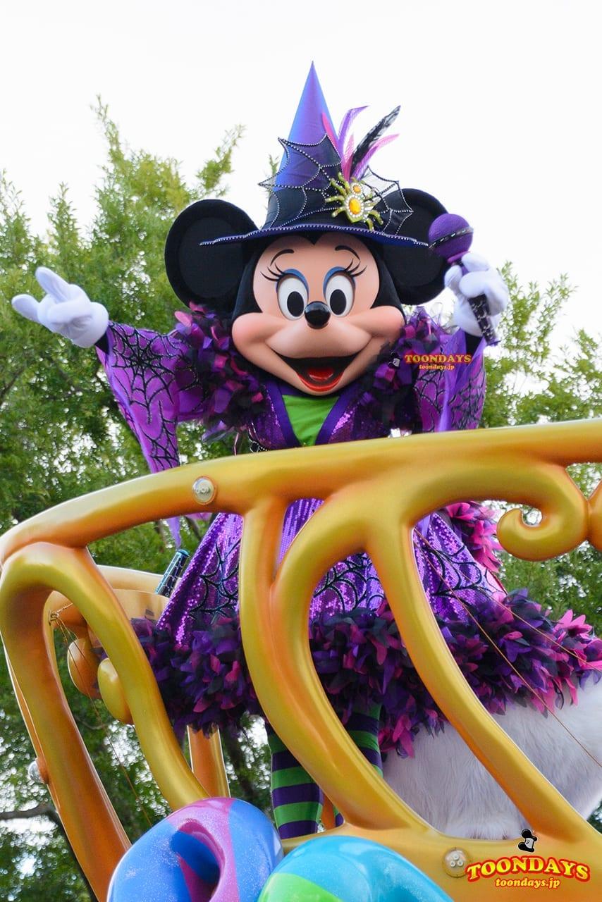 TDL ディズニー・ハロウィーン 2016 ハロウィーン・ポップンライブ ミニーマウス