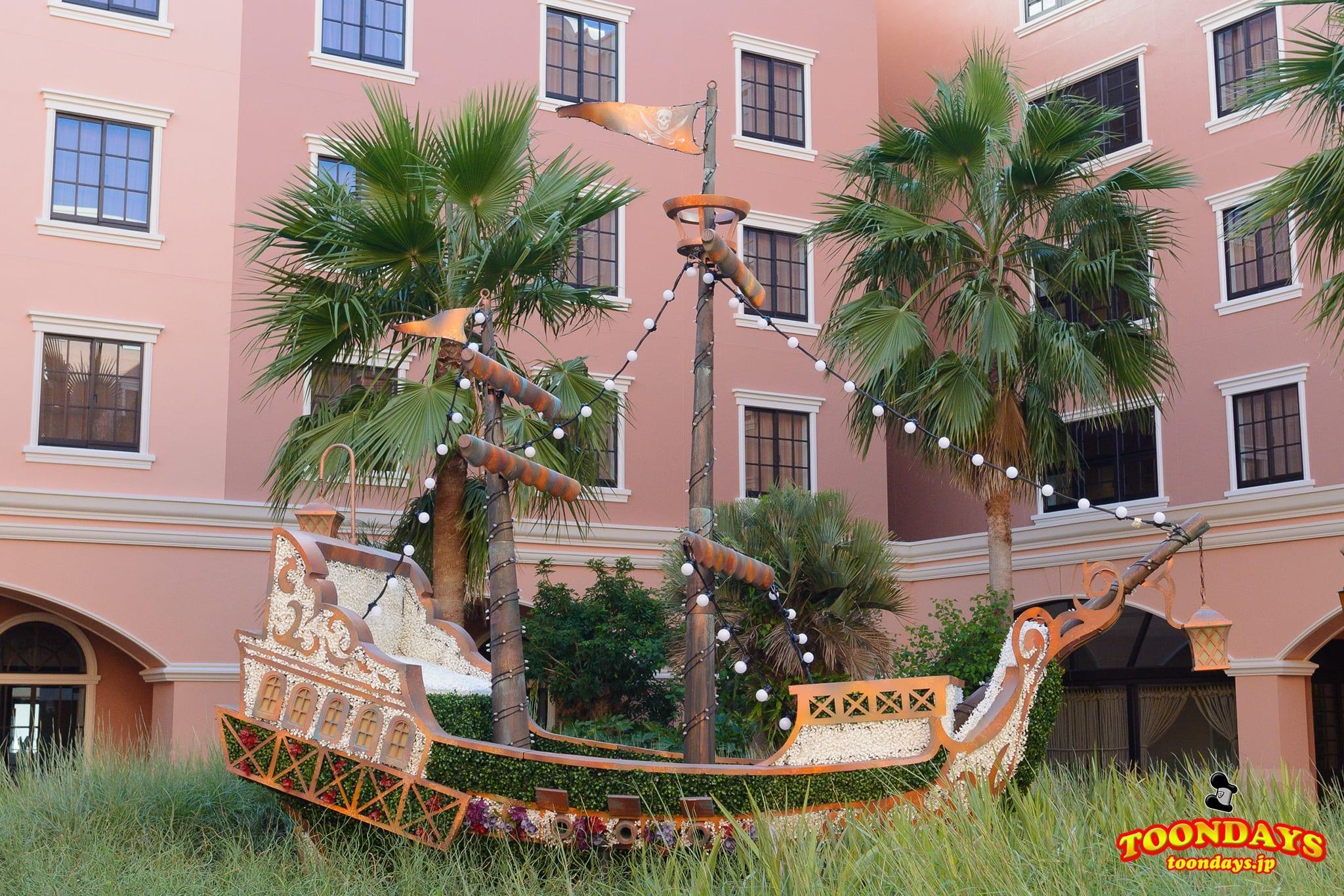フック船長の海賊船