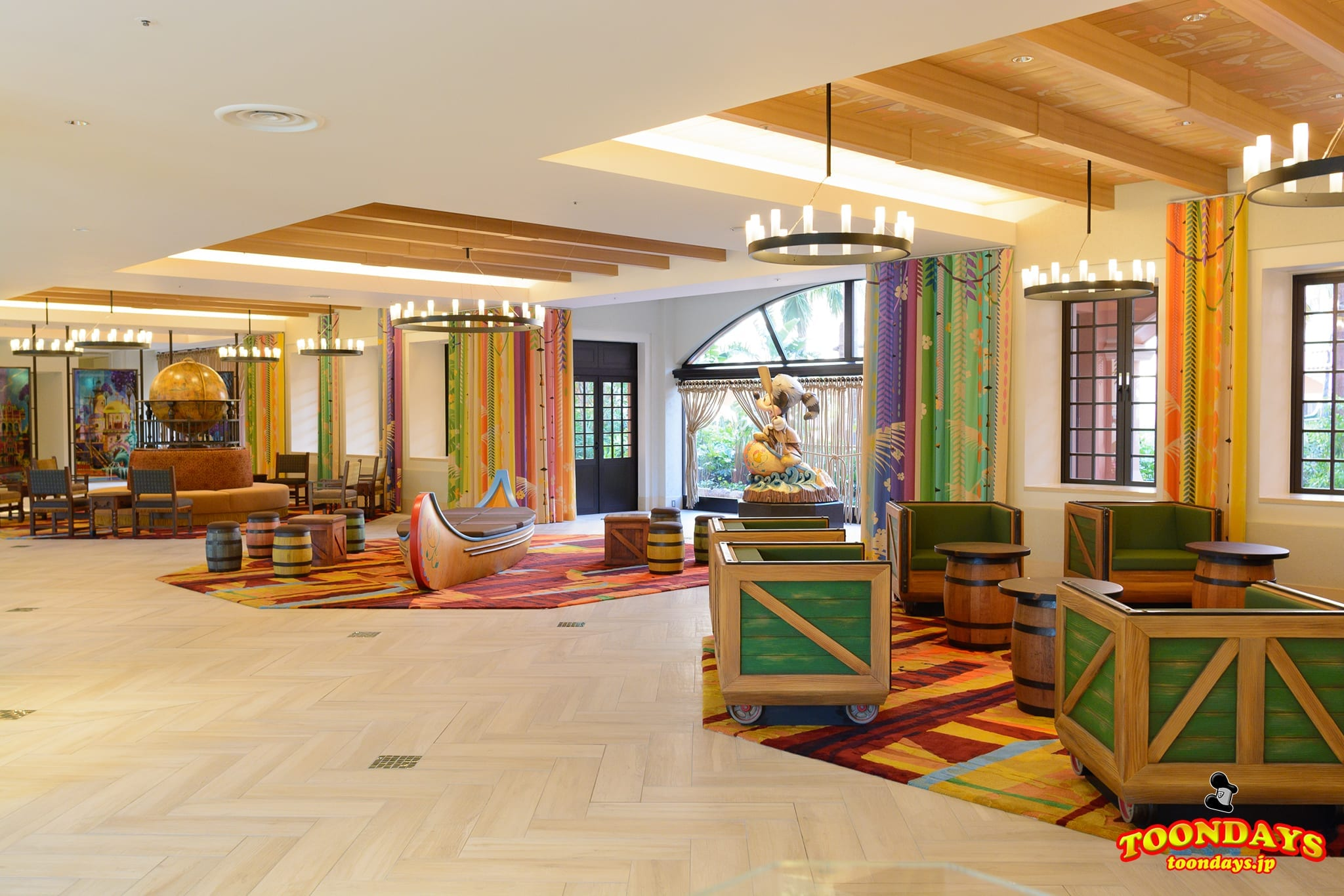 TDR 東京ディズニーセレブレーションホテル:ディスカバーのロビー