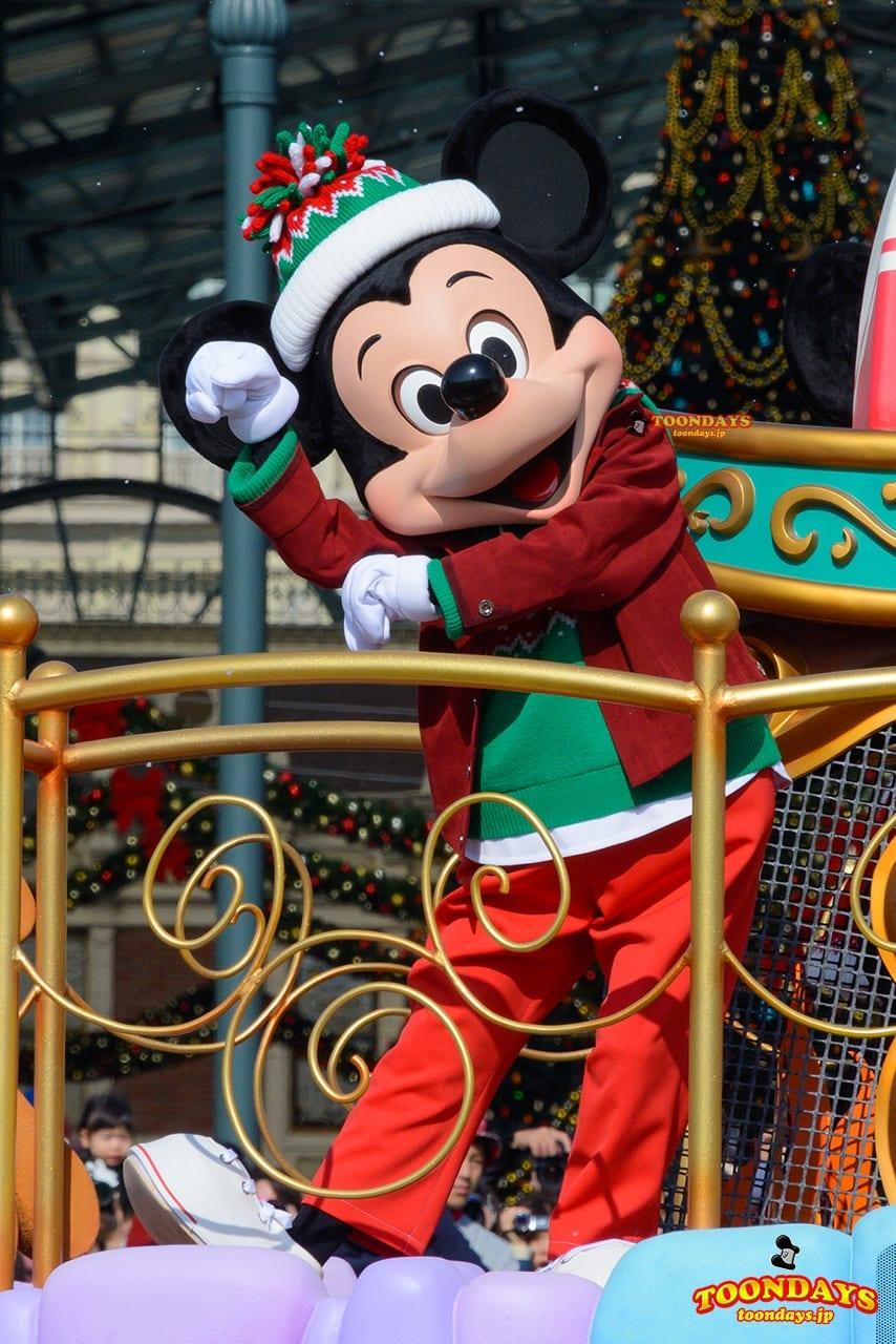 TDL クリスマス・ファンタジー 2016 ディズニー・クリスマス・ストーリーズ ミッキーマウス