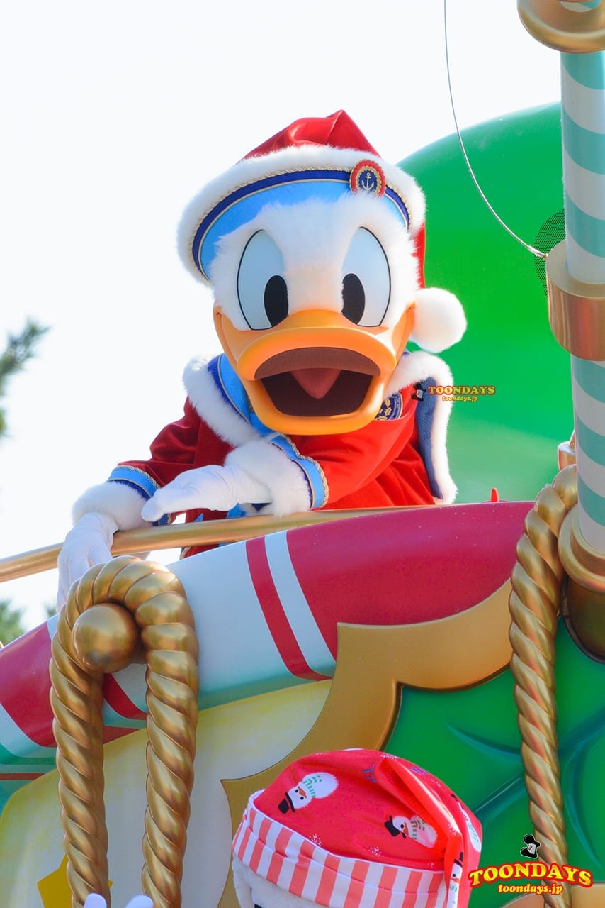TDL クリスマス・ファンタジー 2016 ディズニー・クリスマス・ストーリーズ ドナルドダック