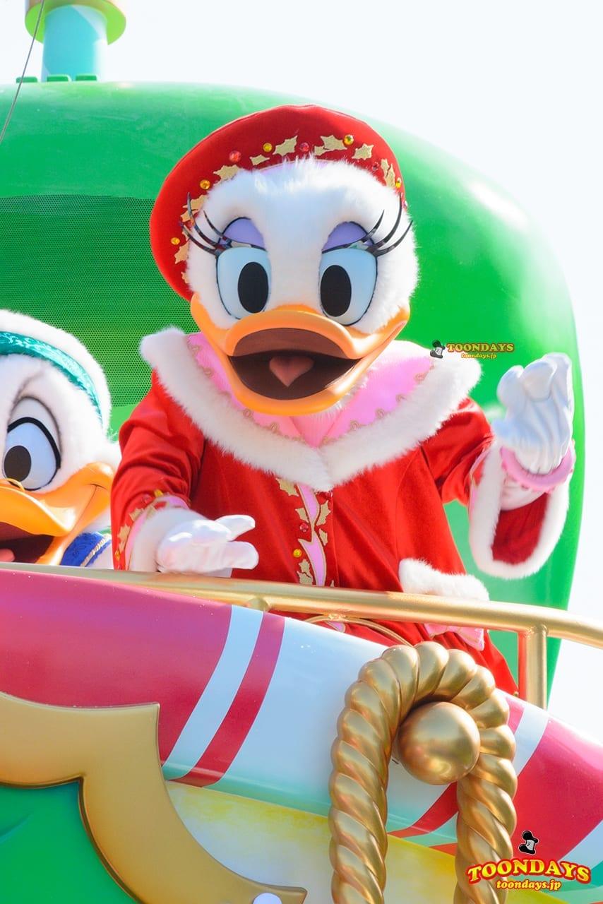 TDL クリスマス・ファンタジー 2016 ディズニー・クリスマス・ストーリーズ デイジーダック